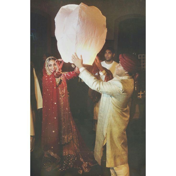 Cousins wedding, New York. #nyc #wedding #lantern #couplegoals #family #pakistani