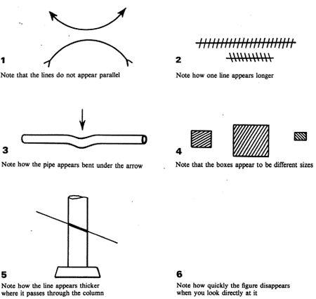 6 amazing optical illusions...  :P