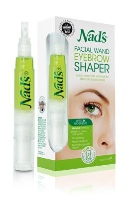 Nads Hair Removal Facial Wand Eyebrow Shaper- Love!