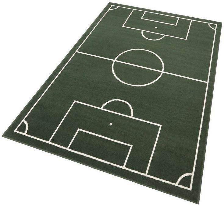 Kinderteppich »Fussballplatz«, Hanse Home, rechteckig, Höhe 9 mm, Fußballplatz-Motiv ab 27,09€. 1,7 kg/m² Gesamtgewicht (ca.), 9 mm Gesamthöhe (ca.) bei OTTO