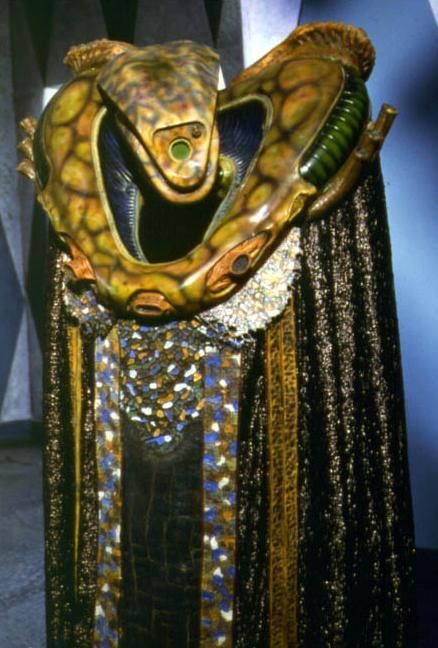 Babylon 5 - Kosh Naranek. An unusual member of the Vorlon race, but perhaps the most influential in the end.