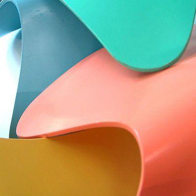 FRITZ HANSEN 4x Arne Jacobsen 3107 Pastell Stuhl chair - Küchenstuhl eames knoll