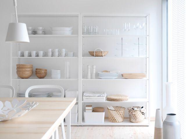 ikea 2014 novedades almacenaje estilo nordico estanteria metal blanco