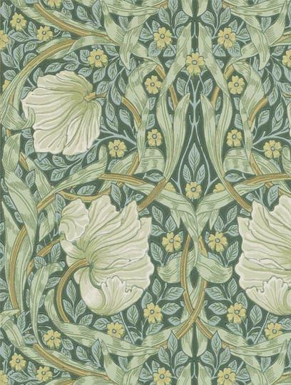 Pimpernel Privet Slate Tapeter från Morris & Co (210389)