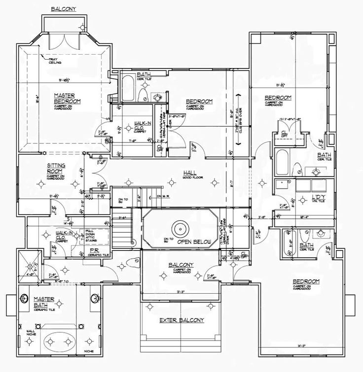 French Mansion 2nd Floor Floor Plans Pinterest