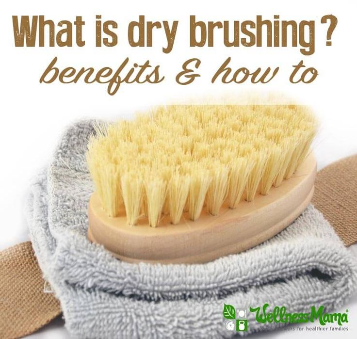 Dry brushing is an age-old process of brushing skin with a natural brush to stimulate lymph flow, improve circulation, exfoliate skin and help cellulite.