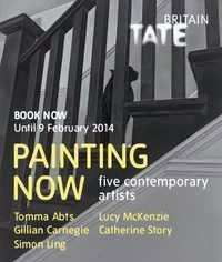 Tate Britain until 9 of February Artists: Tomma Abts, Gillian Garnegie, Simon ling