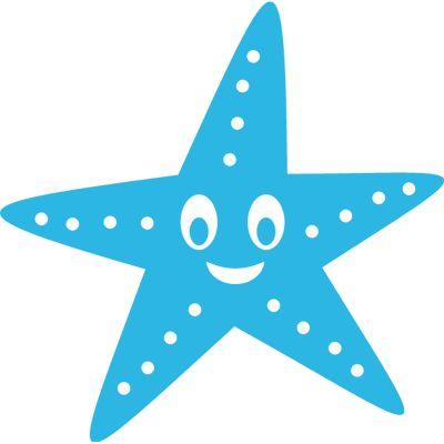 Estrella de mar vinilo infantil para ba o vinilos for Vinilos infantiles estrellas
