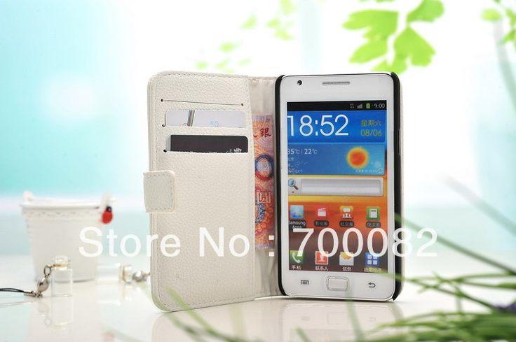 Кожаный чехол для Samsung Galaxy SII i9100 бумажник чехол дизайн стенда