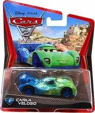 Disney / Pixar CARS 2 Movie 1:55 Die Cast Car #8 Carla Veloso Hot!