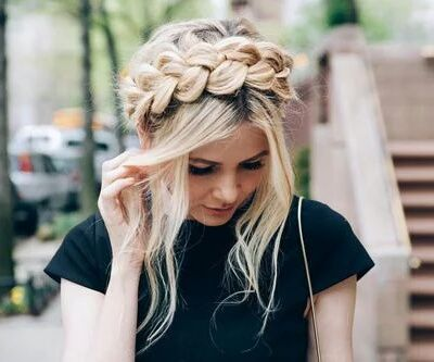 Imagen de hair, hairstyle, and braid