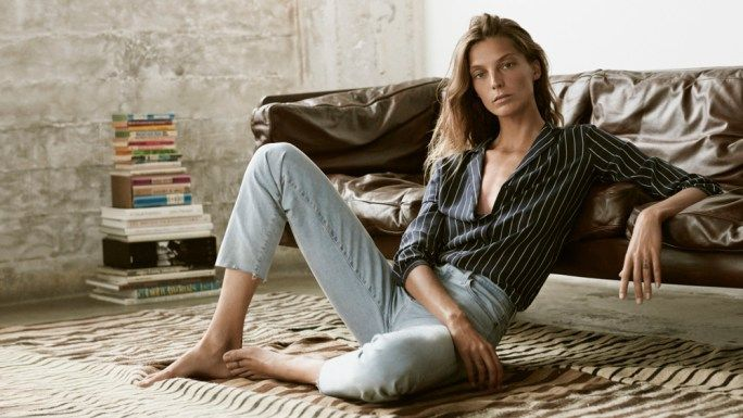 Style&Minimalism | Campaigns | Spring Summer 2016 | Daria Werbowy for AG Jeans