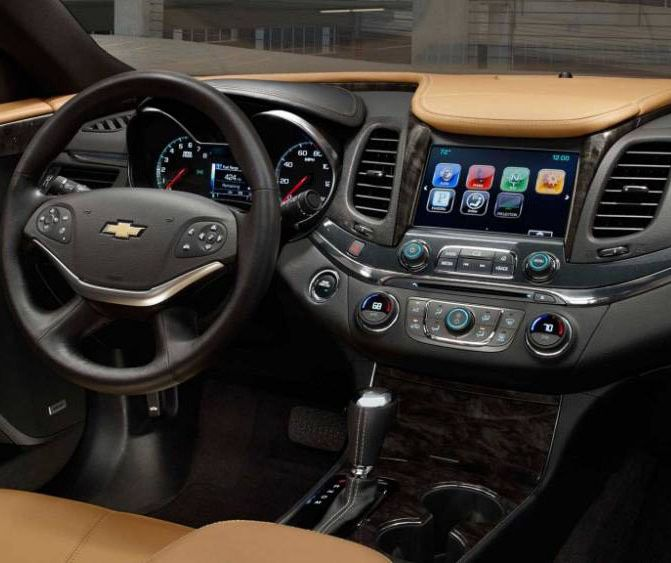 2018 Chevrolet Impala Cabin Features