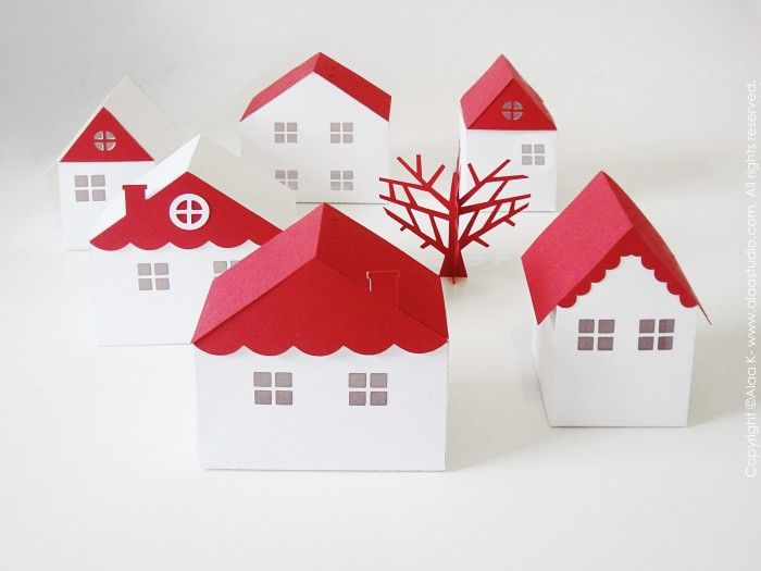 354 Best Paper Houses Images On Pinterest