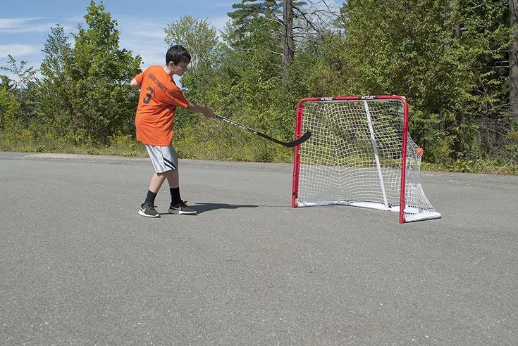 Hockey Goal Net Heavy Duty Steel Indoor Outdoor All Purpose Pick Up Game Travel  #Mylec