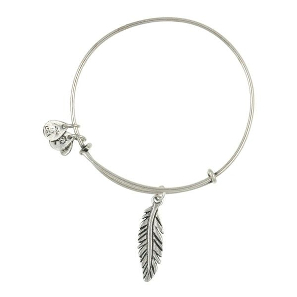 Feather Charm Bangle by Alex and Ani