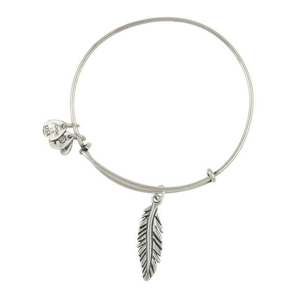 women u0026 39 s alex and ani  u0026 39 feather u0026 39  expandable wire bangle