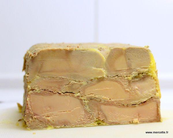 terrine de foie gras..... poelé .  par Mercotte .