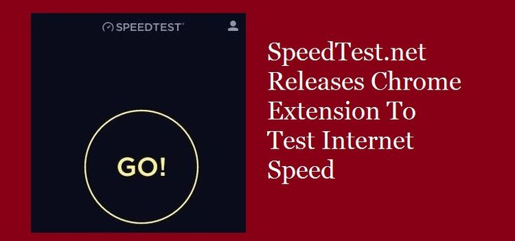 #SpeedTest.net Releases #ChromeExtension To Test #Internet Speed  The best website to test speed has always been speedtest.net. Now the same company, Ookla has launched a new Chrome Extension to check the Internet speed.