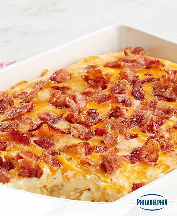 They said it couldn't be done, but we managed to combine all your favourite things into one recipe. Bacon, Philly, cheddar and french fries ensure this Loaded Shoestring Potato Bake casserole will be making regular dinner table appearances this fall.