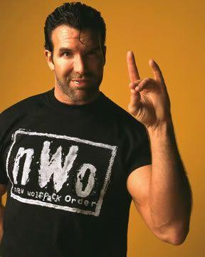 WWE - NWO = New World Order. Giving the Horned Hand/Satanic Salute