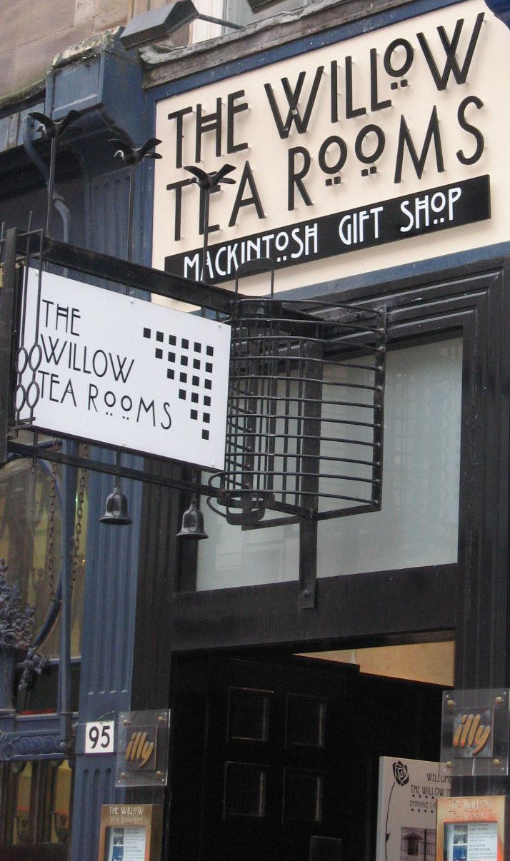 Glasgow, Willow Tea Room, Charles Rennie Mackintosh