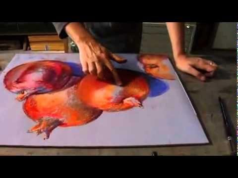 Dirk Schmitt using Schmincke - Pastel from Jackson's Art Supplies