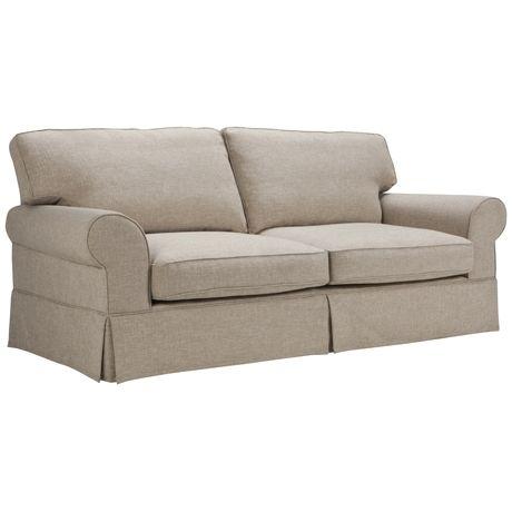 Greenwich 3 Seat Skirted Sofa | Freedom Furniture and Homewares
