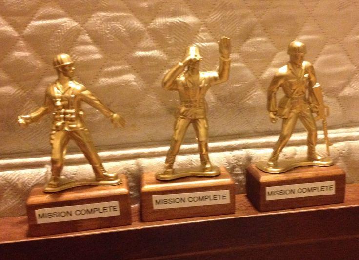Army men trophy idea?!