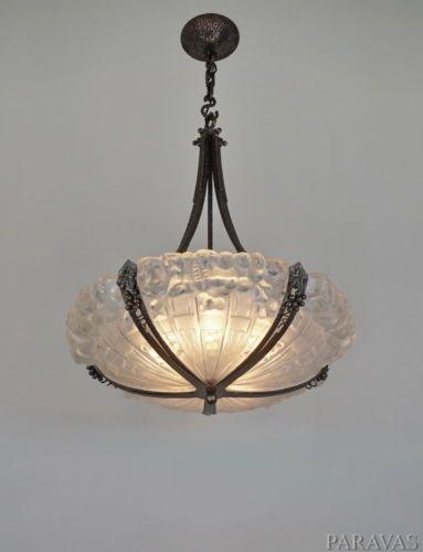 42 best reproduction art deco lighting images on pinterest. Black Bedroom Furniture Sets. Home Design Ideas