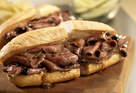 It takes just 15 minutes and 3 ingredients to make these restaurant-style hot roast beef sandwiches, dripping with flavorful gravy.