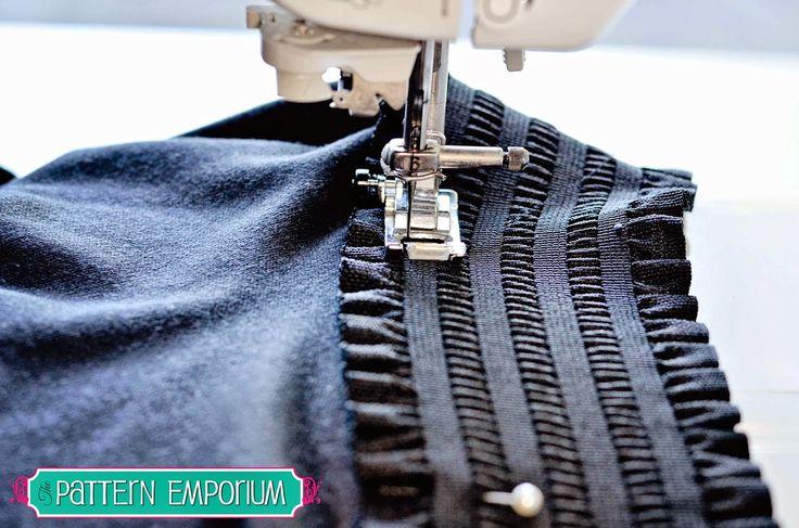 Pattern Emporium: PATTERN HACK: STRETCH SKATER SKIRT