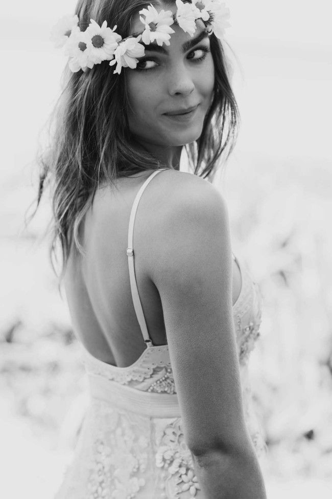 Black and white. Vogue Brides editorial with Bambi Northwood-Blyth and Dan Single.  Image: Nicole Cooper.