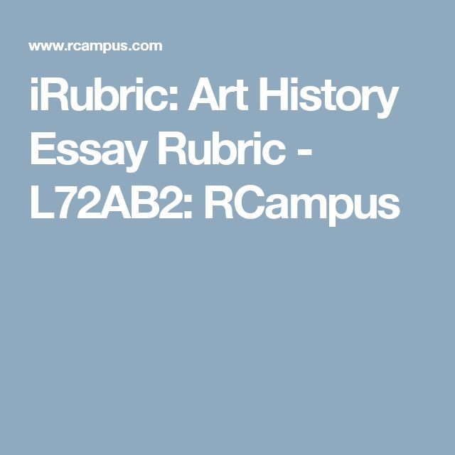 art history essay papers Art history essays are not radically different from other sorts of essays you may have written before, but they do have some specific concerns.