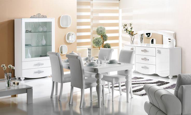 Buket Yemek Odası Detaylı bilgi http://bit.ly/1HBjTTf
