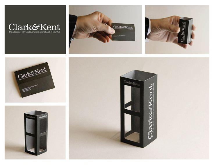 business card | clark & kent
