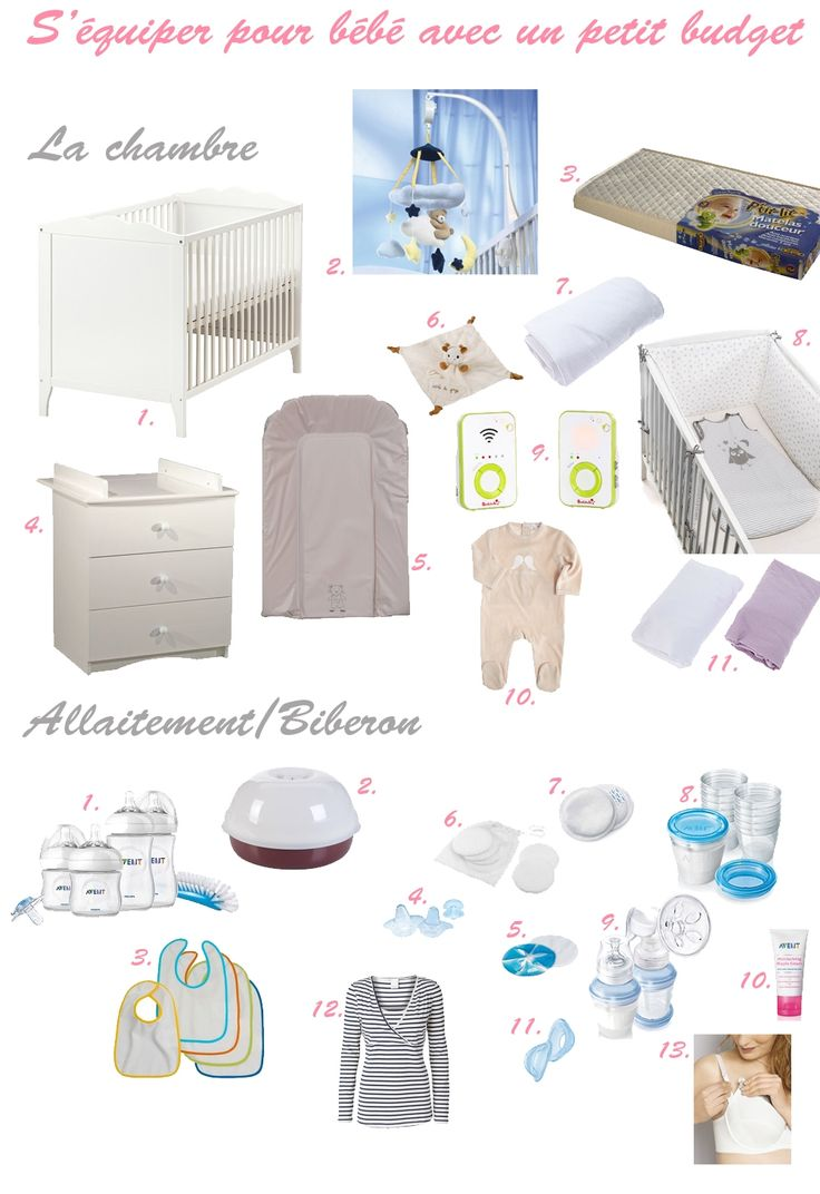 S'équiper pour bébé quand on a un petit budget :  http://drolesdemums.com/bebe-0-3-ans/puericulture/sequiper-pour-bebe-petit-budget