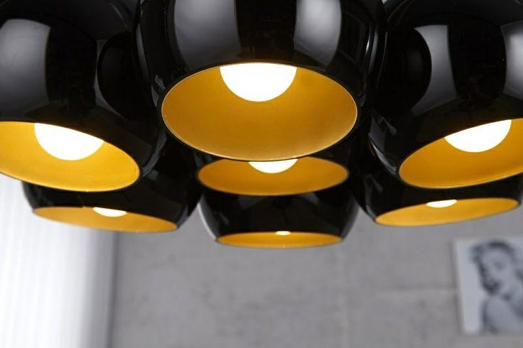 Black Golden Pearls Bundellamp | Lampen - Retro verlichting | Design meubels, Retro verlichting & cadeaushop, Space Age new vintage