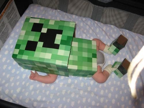 What do you feed a Baby Creeper?