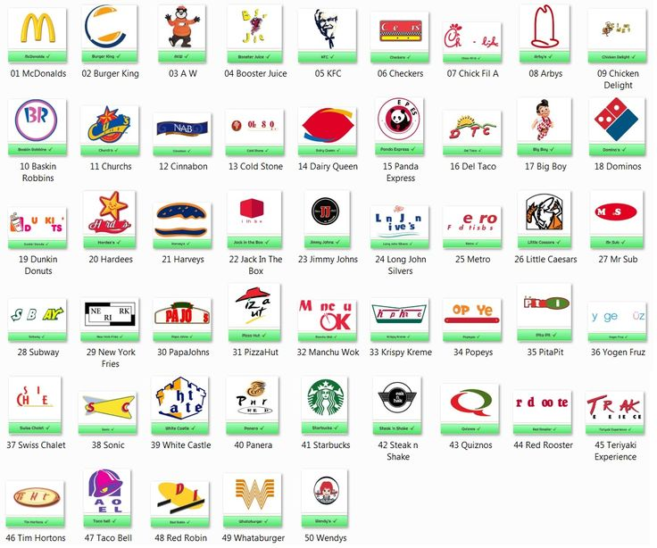 Fast Food Logos Quiz Answers | www.imgkid.com - The Image ...
