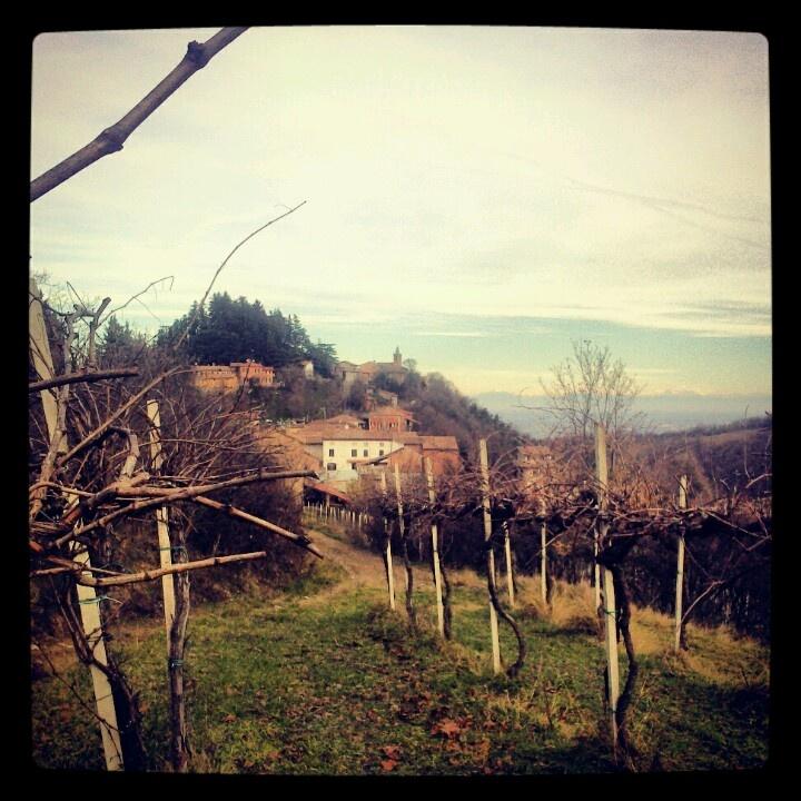 Mondondone, fraz di Codevilla. Oltrepò Pavese. Italy