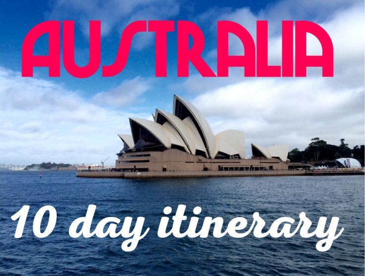 3 cities in 10 days. Australia's 10 day itinerary: Sydney, Melbourne and Cairns
