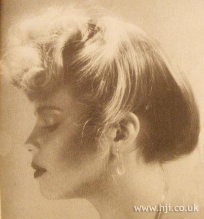 like the fringe.: Updo Hairstyles, Swirls Updo