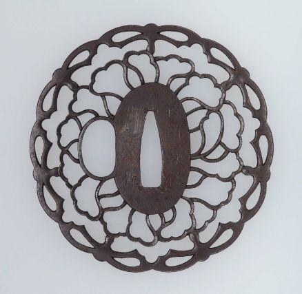 Tsuba with design of foliate ornament Japanese, Edo Period, Early 19th century By Okamoto Toyoaki, Japanese, MFA http://www.jujitsumelbourne.com.au/jiu-jitsu-melbourne.html
