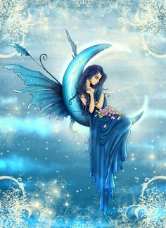 Moonligt faery by clv on DeviantArt