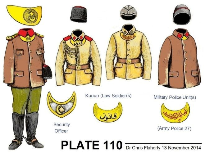 Ottoman Turkish Uniforms WW1 History First World War Militaria Turkey Wargaming Military Insignia Uniform Crimea Crimean