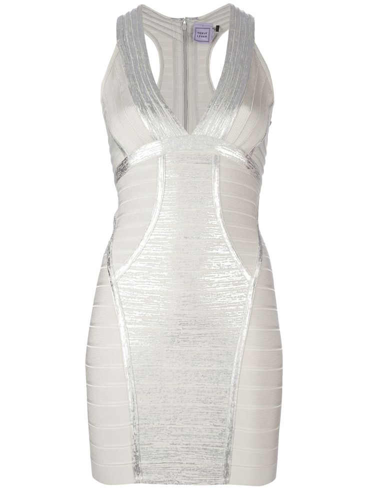 Bandage dress from Hervè Lèger #farfetch5