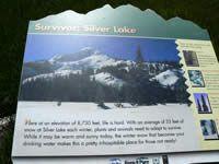 Silver Lake hike information