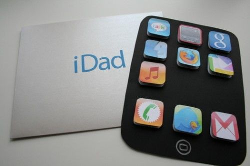 father's day crafts for kids | Geeky Father's Day Cards Your Kids Can Easily Make | Shelterness