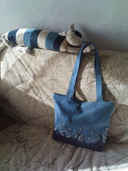 Мои джинсовые поделки-переделки | Фотографии Вера Оболонская | 1230 фото